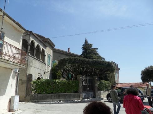 Palazzo Tullio-Cataldo, in piazza Tiglio
