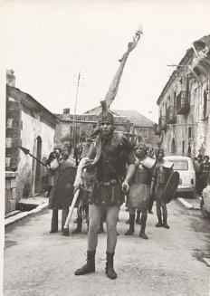 Moriello Euplio, anni '70. ph Nunzia Moriello